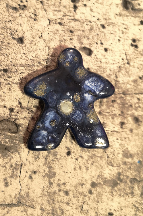Meeple Magnet Deep Midnight Blue