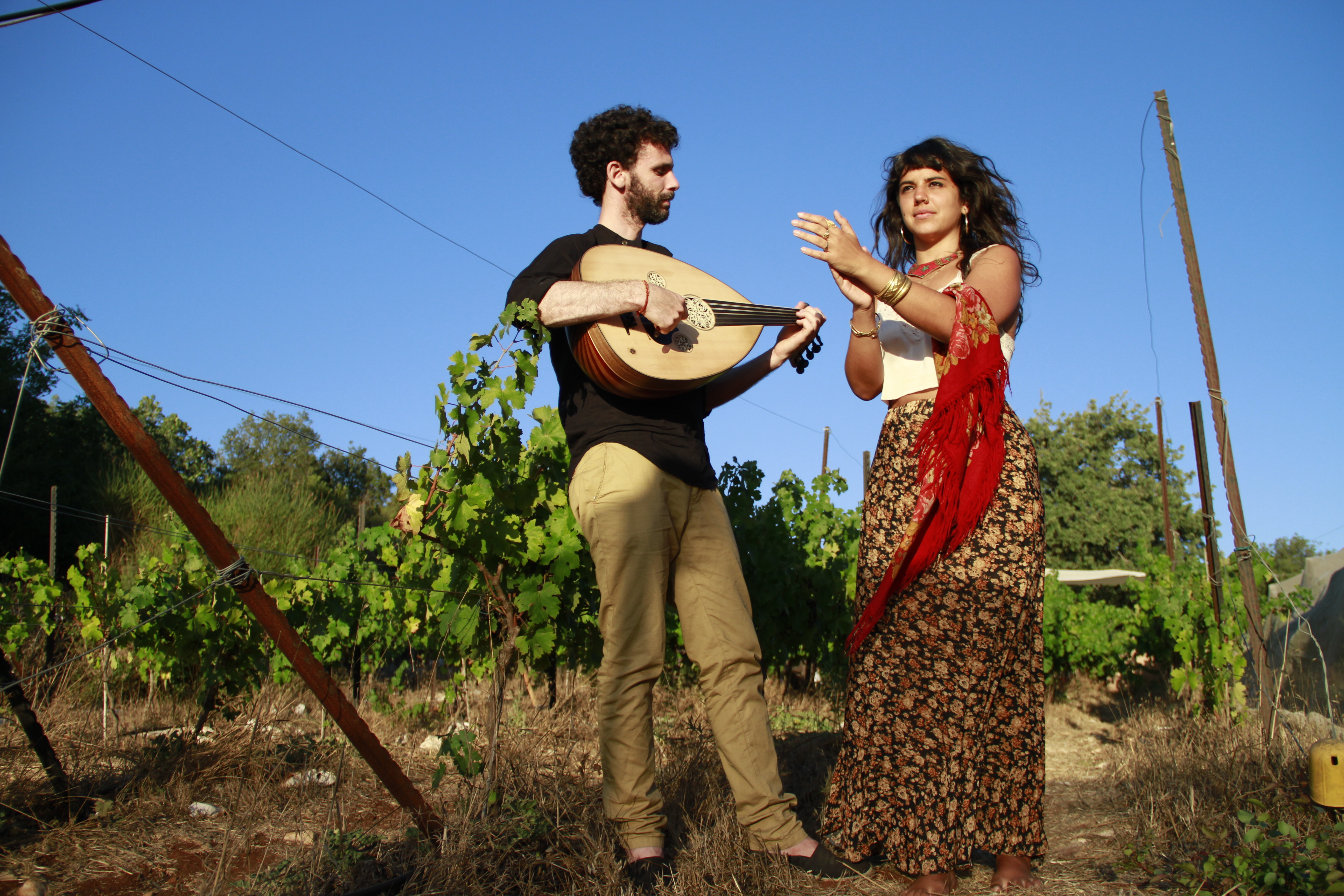 Ofer Ronen Tamar Bloch Duo Andalus 1