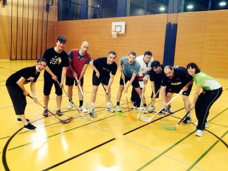 Les Barons au Fun'Unihockey