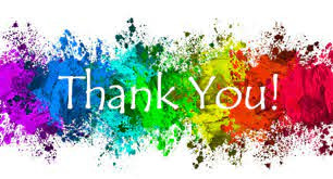 We want to say; Thank You all very much!