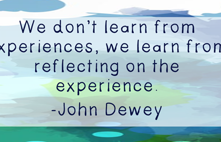 Developing self-reflection