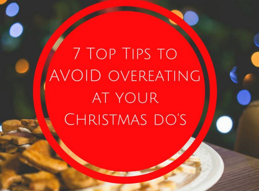My 7 Top Tips to Avoid Over-eating at Christmas Functions
