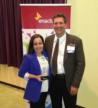 Enactus Lambton president named Canadian student leader of the year
