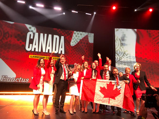 Enactus Lambton crowned world champions