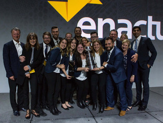 Local Enactus team advances to World Cup event that takes place this fall