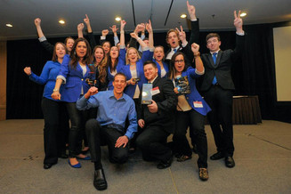 Enactus Lambton brings home trove of awards from central Canada regionals