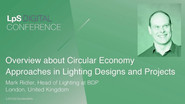 Overview about Circular Economy Approaches in Lighting Designs