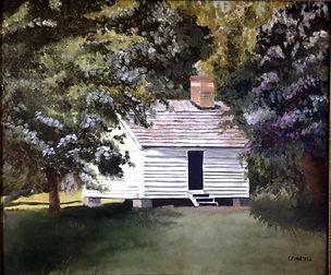L_schwartz_Slave House, Magnolia Plantat