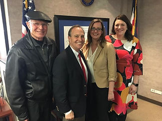 Congressman Ed Perlmutter took time to l