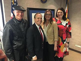 Congressman Ed Perlmutter took time to l