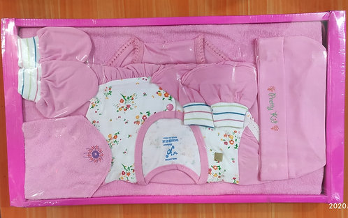 Royal Soft Cotton Gift Box for Just Born Baby Boy/Baby Girl with Gift Wrap