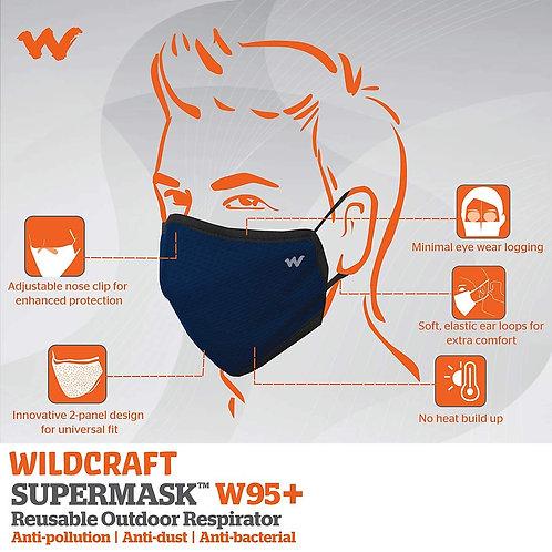Wildcraft SUPERMASK W95 Plus Reusable Outdoor Respirator Mask - GRINDLE