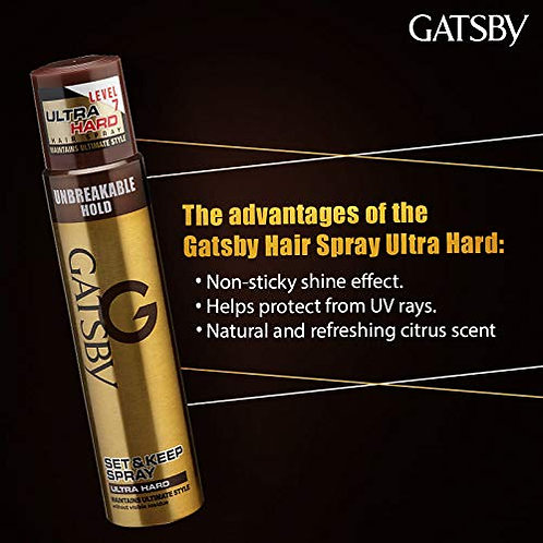 GATSBY G SET & KEEP SPRAYS