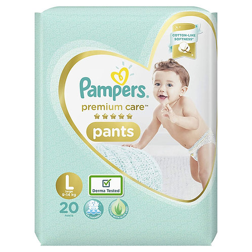 Pampers Premium Care Pants Diapers, Large