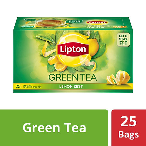 LIPTON GREEN TEA LEMON ZEST