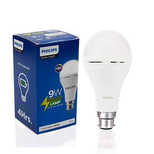 Philips Inverter Bulb 9W Rechargeable Emergency LED Bulb For Home