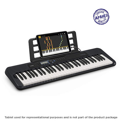 Casio CT-S300 Casiotone 61-Key Touch Sensitive Portable Keyboard (Black)