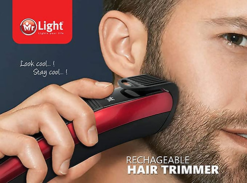 MR LIGHT RECHARGEABLE HAIR TRIMMER