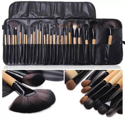 Makeup Brush Set with PU Leather Case