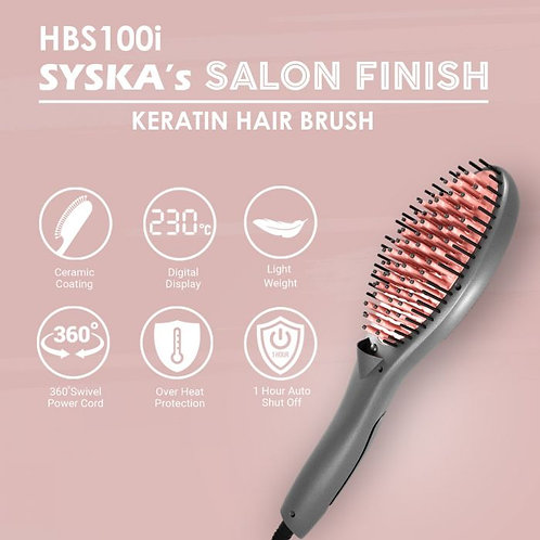 SYSKA KERATIN HAIR BRUSH HBS100I