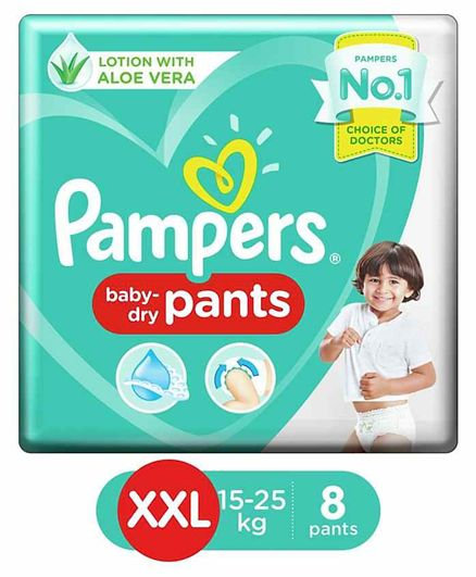 PAMPERS PANTS XXL 8PANTS
