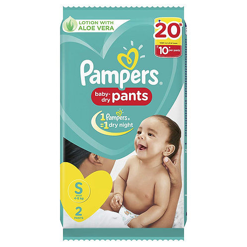 Pampers New Small Size Diapers Pants SMALL