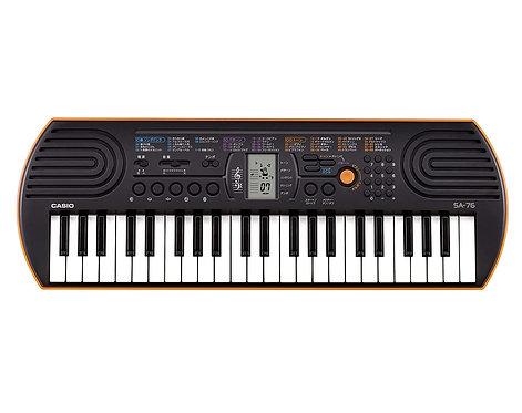 Casio SA-76 Electronic Mini Keyboard, 44 Keys
