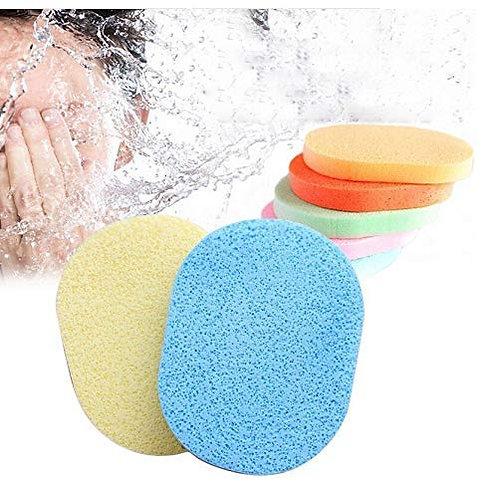 KELI Face Cleansing Sponge Puff Makeup Washing Pad Deep Cleansing