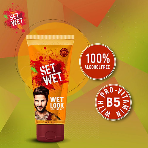 SET WET WET LOOK STYLING GEL