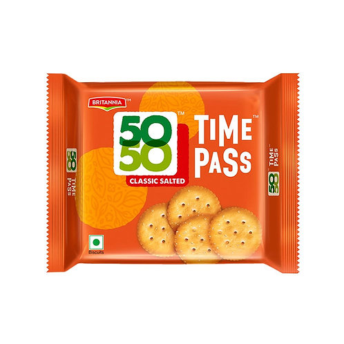 BRITANNIA 50 50 BISCUITS