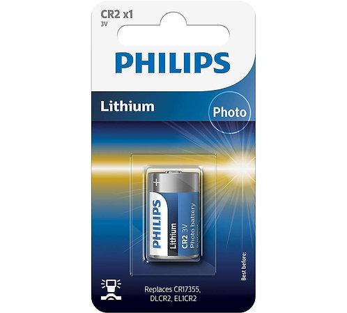 Philips CR2 3V Lithium Battery (Pack of 1)
