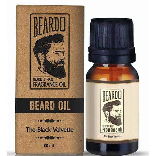 Beardo The Black Velvette Beard and Hair Fragrance Oil