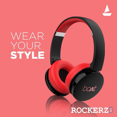 boAt Rockerz 370 Wireless Headphone with Bluetooth 5.0, Immersive Audio