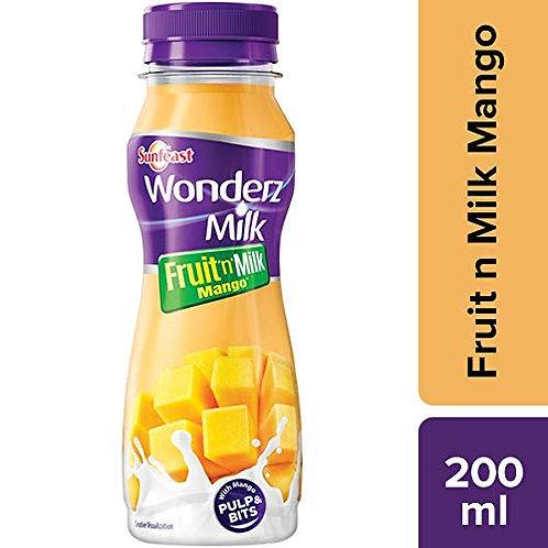 Sunfeast Wonderz Fruit n Milk, Mango 200ml