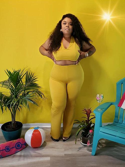fits like CURVE- Summer jumpsuit, Large 14-16