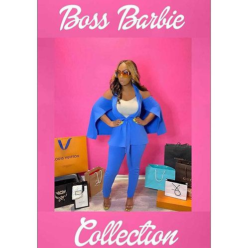 The 8 Figure Barbie suit - Small 6-8, Medium 8-10, Large 10-12