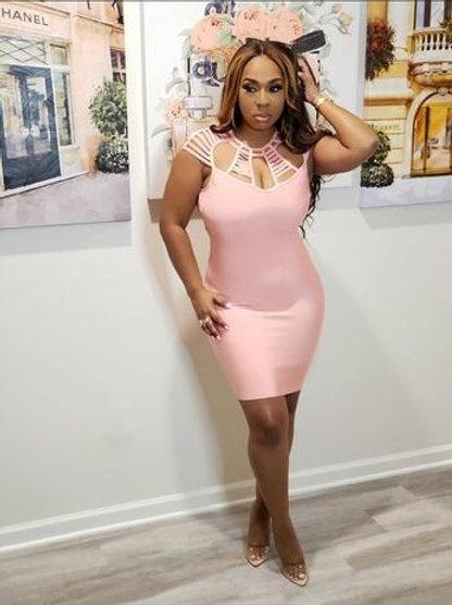 Please Me Pink Dress