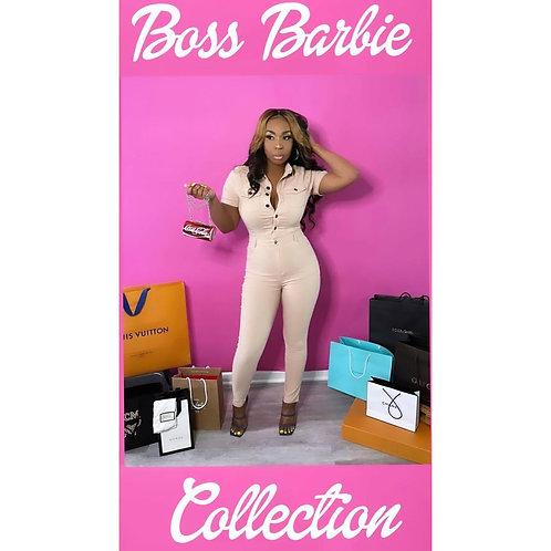 The CEO Barbie Jumpsuit  Small 4-6, Medium 6-8 Large 10-12