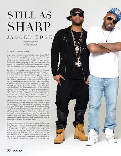 jagged edge tear sheets