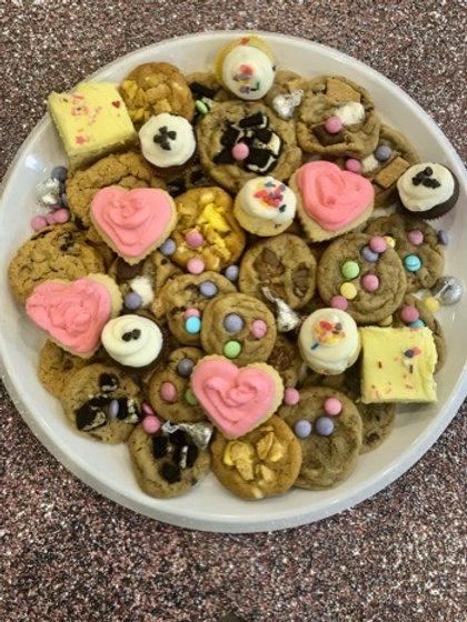 Celebration Tray with Mini Sugar Cookies