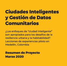Ciudades Inteligentes y Gestión de Datos Comunitarios