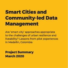 Smart Cities and Community-led Data Management