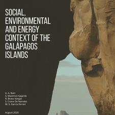 Social, Environmen- tal and Energy Context of the Galapagos Islands