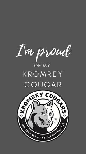 I'm proud of my Kromrey Cougar grey phone wallpaper