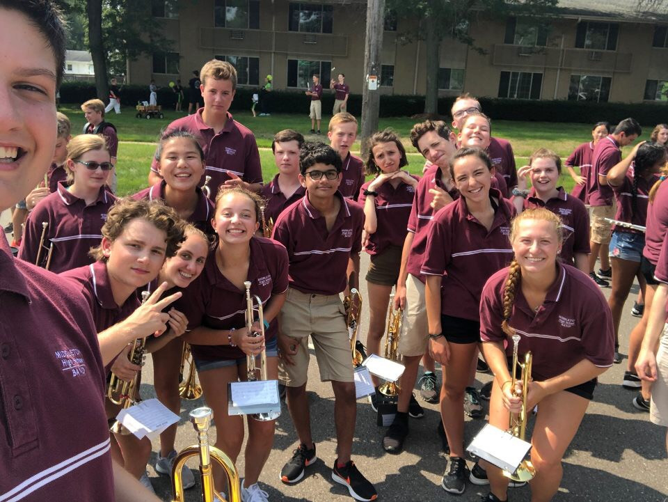 Marching Band Camp 2019