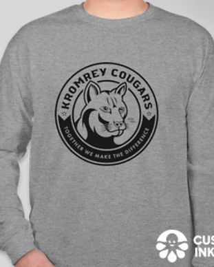 Kromrey Tee Custom Ink Grey Long Sleeve.