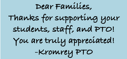 Thank you to families
