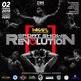 locandina sport show revolution definiti
