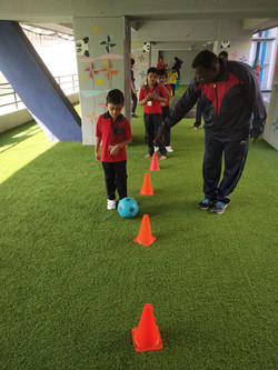 Sports activities for Senior KG