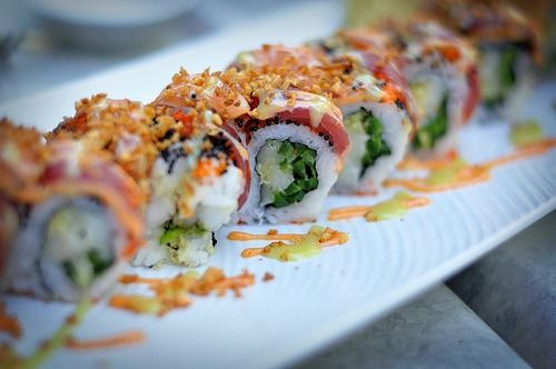 Sushi. Img Courtesy Pinterest